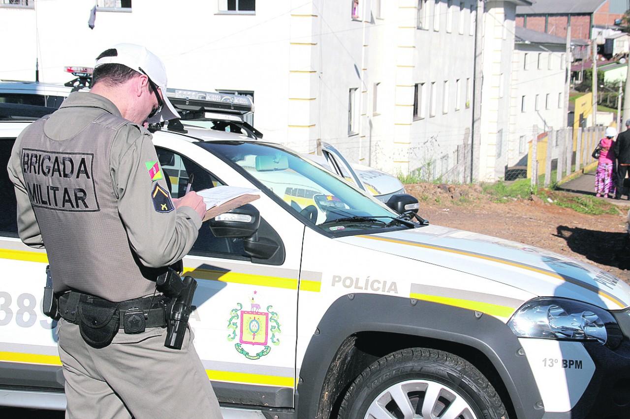 Brigada Militar prende assaltantes de farmácia em Sananduva