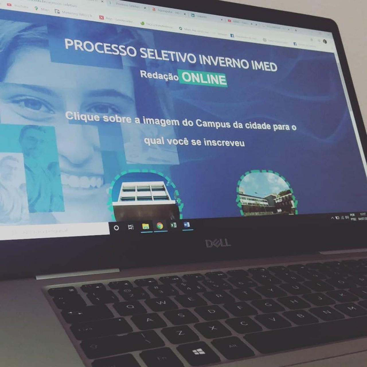 IMED realiza primeiro processo seletivo de forma online da instituição