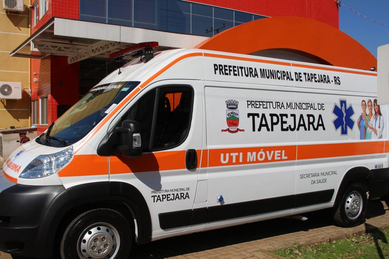 Tapejara recebe novo micro-ônibus para transporte de pacientes