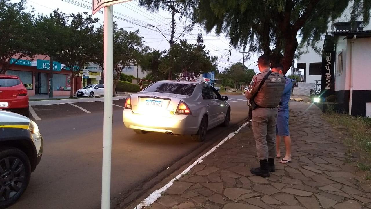 80 veículos foram abordados durante Operação da BM em Tapejara