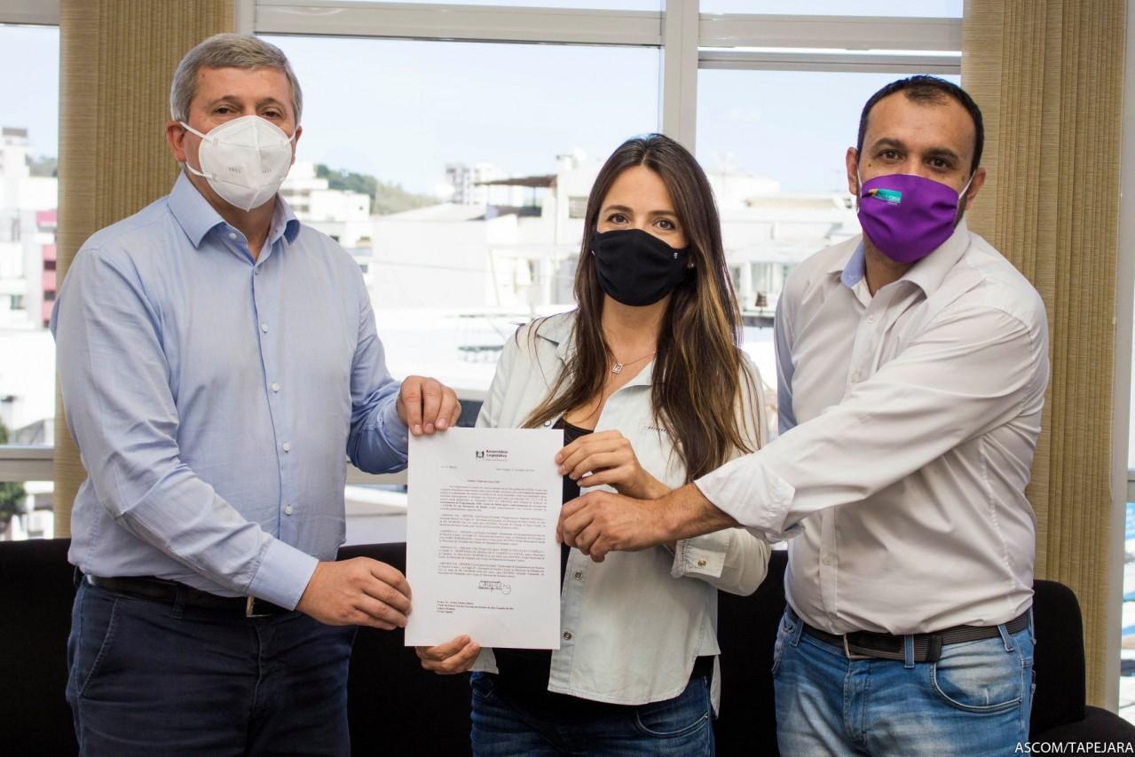 BIG recebe emenda parlamentar da deputada Any Ortiz para Tapejara