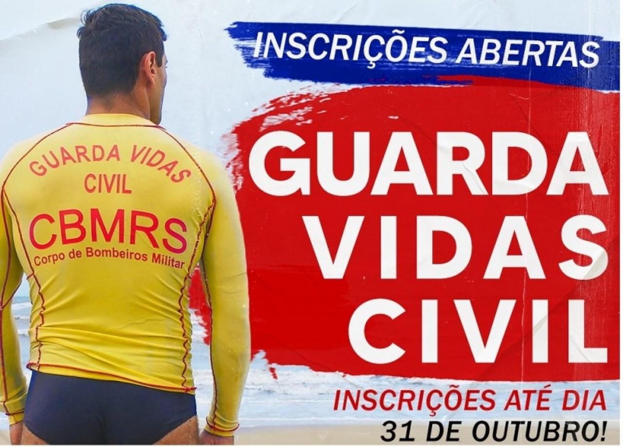 Inscrições para 600 vagas de guarda-vida encerram amanhã no RS